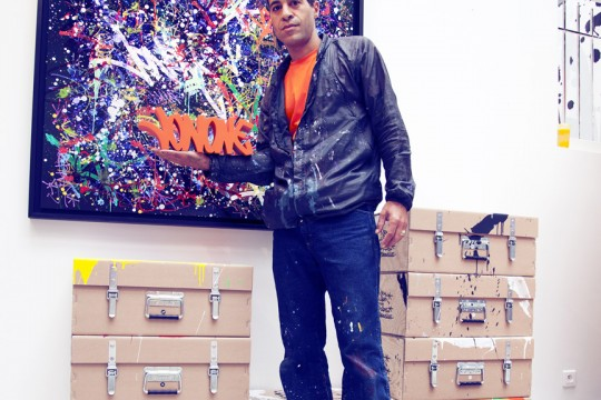 JonOne – <em>The Chronicles </em> à la galerie David Pluskwa