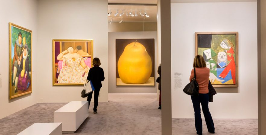 <em>Botero, dialogue avec Picasso </em>au Centre d'Art Caumont