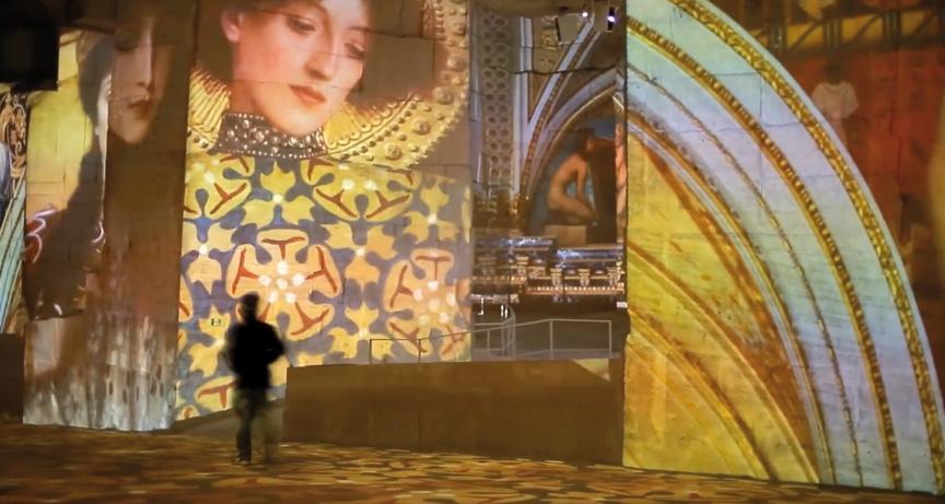 De Klimt A Hundertwasser Un Siecle D Or Et De Couleurs Aux Carrieres De Lumieres Des Baux De Provence Journal Ventilo