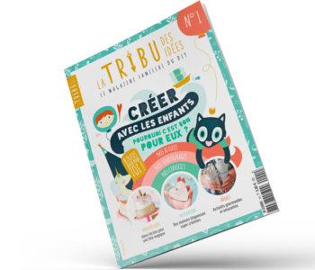 <em>La Tribu des Idées</em>, le magazine familial DIY