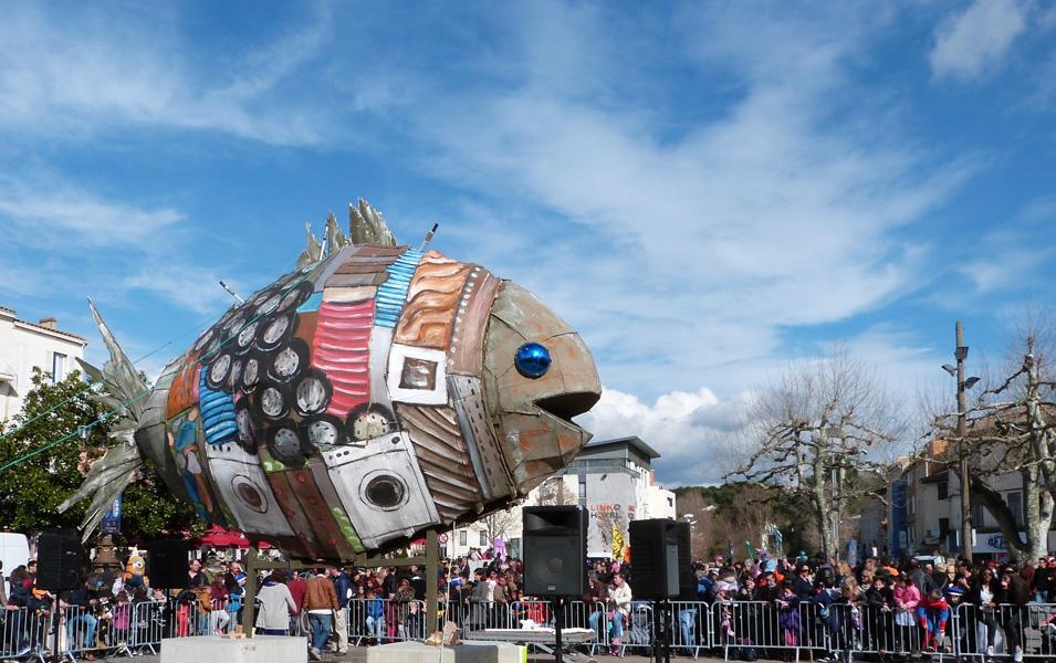 Les Arts Pop au carnaval 2018 à Aubagne