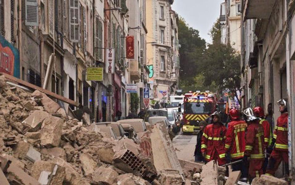 Effondrements de la rue d'Aubagne Marseille