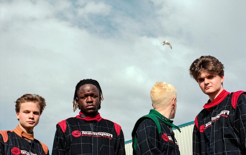 Black Midi en concert à Marseille