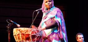 Aziza Brahim à la Fiesta par Elekes Andor
