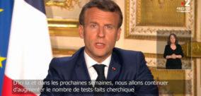 Le discours du président Macron